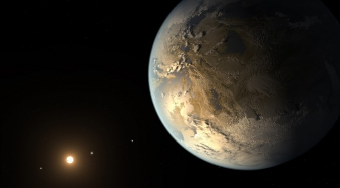 Keplar-186f. The first discovered earth-size planet